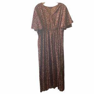 SHEIN floral long maxi dress 2X